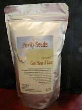 1 lb bag ground Purity Seeds Golden Omega  flax seed, flaxseed, nat laxative