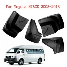 4pcs Car Mud Flaps Splash Guard Tire Fender Mudguard For Toyota HIACE 2008-2018