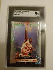 1992-93 Topps Stadium Club Beam Team #1 Michael Jordan SGC 9