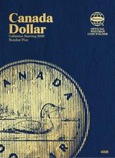 Whitman Canadian Dollar Coin Folder 2009-Present Volume 5 #4008
