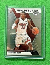 KENDRICK NUNN MOSAIC SILVER CHROME ROOKIE CARD HEAT RC 2019-20 MOSAIC BASKETBALL
