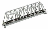 "Kato N Scale 9-3/4"" Truss Bridge 20-432 Gray JP"