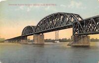 nr Montreal Quebec Canada~Railroad Bridge (Treste) c1910 Postcard