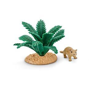 NEW Schleich 42323 Gerbil in Den set Wild Life accessories Desert Animal playset