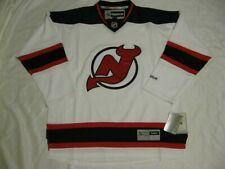 New Jersey Devils White 2XL Reebok Premier Jersey