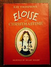"""""""Eloise at Christmastime"""" by Kay Thompson- 1st Printing- 1958- w/Jacket"""