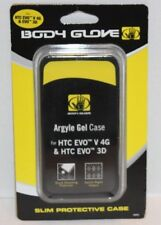 NEW BODY GLOVE Slim Black Argyle Gel Protective Cell Phone Case FREE Shipping!