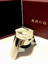 More details for krug champagne recorker fizz saver brand new  with engraved vine trim boxed