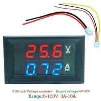 NEW Digital Voltmeter Ammeter Panel Amp Volt Voltage Meter BEST Current F2I0