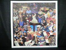 Payne Stewart Arnold Palmer Golf Masters Lithograph