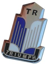 Triumph shield logo lapel pin