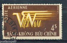 VIETNAM - 1952 - timbre aérien n° 9, AVION, oblitéré