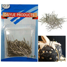 200 Dressmaking Pins 25mm New Quality Metal Sewing Craft Work Straight Tailoring