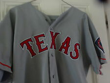 1998 SCOTT BAILES TEXAS RANGERS Game Used Worn Road Jersey SIGNED