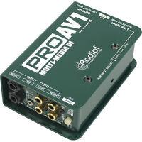 Radial Engineering ProAV1 Multi-media Passive DI Direct Box PRO AV1 PRO-AV1