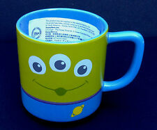 DISNEY STORE Mug CLOSE UP Collection ALIEN TOY STORY CERAMIC Cup 12 oz NEW
