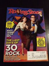 Rolling Stone Issue 1175 Jan 31, 2013 - 30 Rock last days - David Bowie