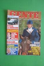 GENTE 50/1997 MANDALA TAYDE CORRADO MANTONI ALBERTO MANZI KIM BASINGER ALEXANDER