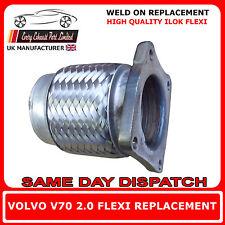 Volvo V70 2.0 1997-2000 Exhaust Repair Flexi Flex Replacement for Cat Pipe