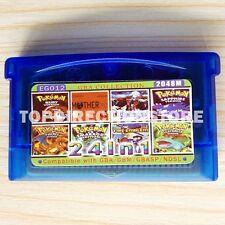 24 in 1 Pokemon Nintendo Game Card SANTA Gift GBM,GBA,GBA SP,NDS,NDSL US Rev.