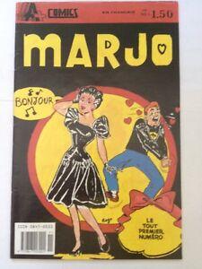Marjo # 1, 1989 A+ Comics