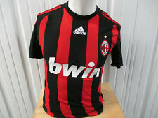 VINTAGE adidas AC MILAN SEWN SMALL JERSEY 2006/07 KIT ITALIAN LEAGUE PREOWNED