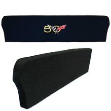 Corvette 50th Cross Flag Anniversary Emblem Trunk Compartment Divider C5 98-04