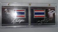 Ariya & Moriya Jutanugarn Upperdeck Authentic Dual Pride of Nation PN-JJ 30/35
