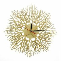 Lasered Engraved Wood Forest Masterpiece Tree Of Life Wall Clock Tree