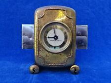 CURIOSITE RARE ! PENDULETTE Clock - GUERVILLE RIGUIER - VERROU Lock - SERRURIER
