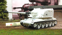 AMX AUF1 White French Self-propelled Gun 1978 Year 1/72 Scale Diecast Model Tank