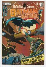 Detective Comics #404 F+ 6.5 Batman Robin Batgirl Neal Adams Enemy Ace DC