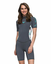 NEW ROXY™  Womens 2/2mm Syncro Series Springsuit Wetsuit 2017 Womens Surf