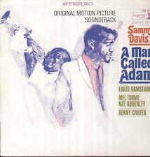 A Man Called Adam - rare OST LP, Sammy Davis Jr.  Armstrong, Mel Torme, B.Carter