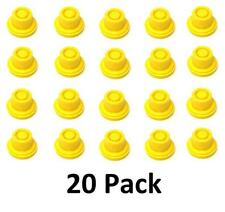 20PK BLITZ Replacement YELLOW SPOUT CAP Top Fuel GAS CAN  # 900302 900092 900094