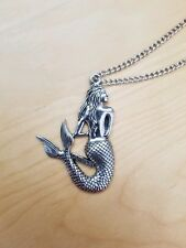 New Silver Mermaid Necklace