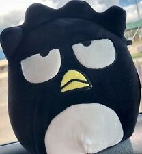 "New listing NWT Squishmallows 7"" BADTZ-MARU Black White Penguin Hello Kitty Friends Sanrio"