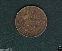 50 francs Guiraud 1953 (Ref. 43)