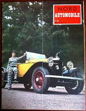 Nord Automobile N°148 année 70; Rallye International/ Salon de Paris/ Cambrai