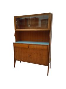Credenza vintage - anni 50 60 - mobile con vetrina modernariato - sideboard
