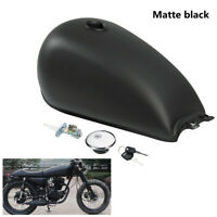 Motorcycle 9L 2.4 Gal Fuel Gas Tank For Suzuki GN125 GN250 Cafe Racer Custom
