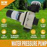NEW High Pressure 17 Litre/Min 40Psi 12 Volt Water Pump & Filter, For Shower