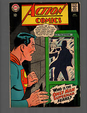 SUPERMAN IN ACTION COMICS # 355 Supergirl HIGH GRADE VF to VF+