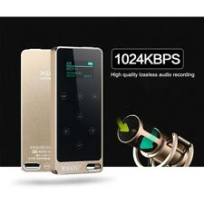 Handy Full Metal MP3 MUSIC PLAYER TFT Screen FM-RADIO Voice RECORDER 16G Gold TX