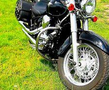 STAINLESS STEEL CLASSIC CRASH BAR ENGINE GUARD KAWASAKI VN 900 VN900 VULCAN