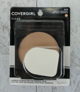 CoverGirl Clean Powder Foundation for Normal Skin - 520 Creamy Natural