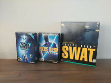 Space Quest, Police Quest (sealed), SWAT, PC Big box / small box collection!