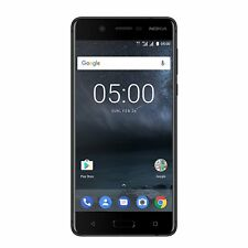 Nokia 5 16GB Dual Sim Unlocked 4G LTE Android Snapdragon 430 OctaCore Schwarz