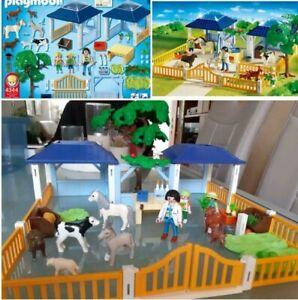 Playmobil- 4344 Tierpflegestation mit Freigehege