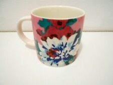 JOULES - Pink and Blue Floral China Mug - New unboxed